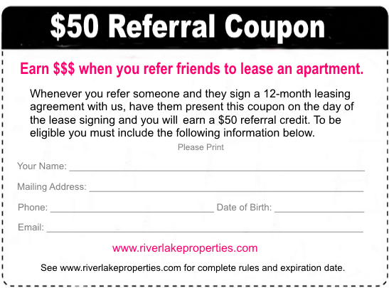 Limited Referral Coupon